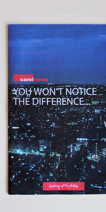 Magazine 2010 Carel News