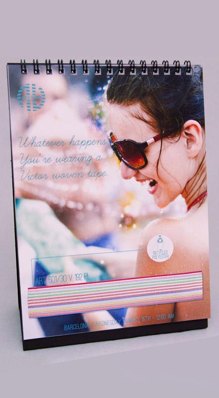 Calendario 2012 – Nastrificio Victor