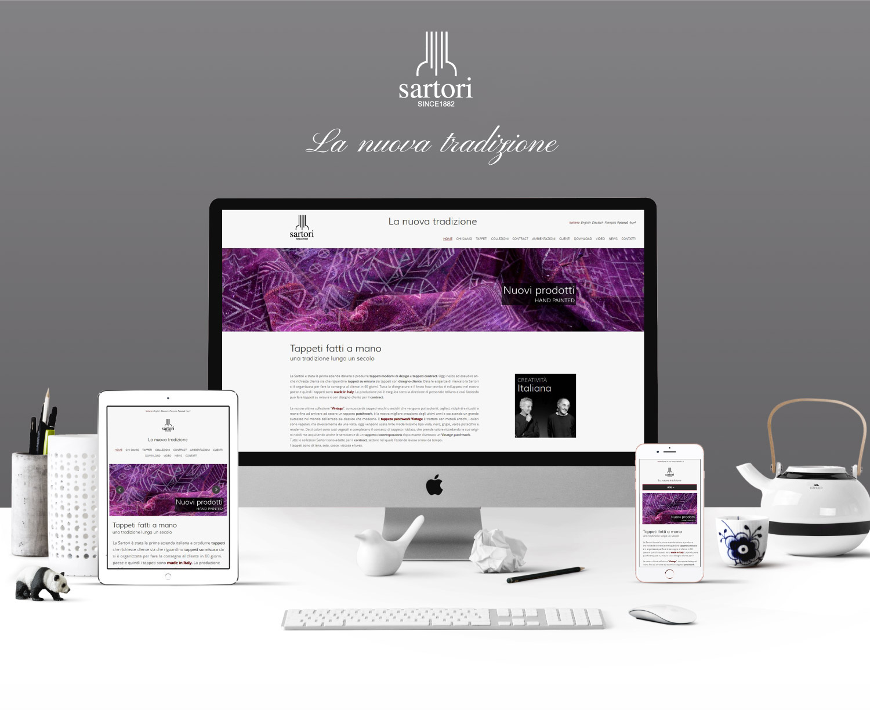 Sito web per azienda del settore arredamento studio 7am for Siti per arredamento