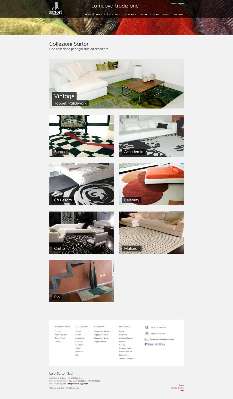 Sartori rugs 2012 studio 7am studio grafico padova - Sartori tappeti rovigo ...