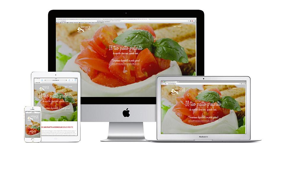 Sito Internet per servizio ristorante