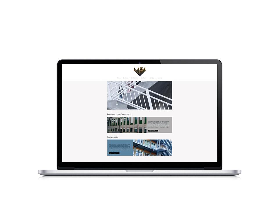 Sito web per azienda metalmeccanica