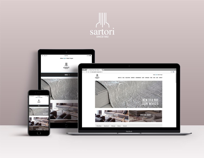 Sito web per azienda produttrice di tappeti